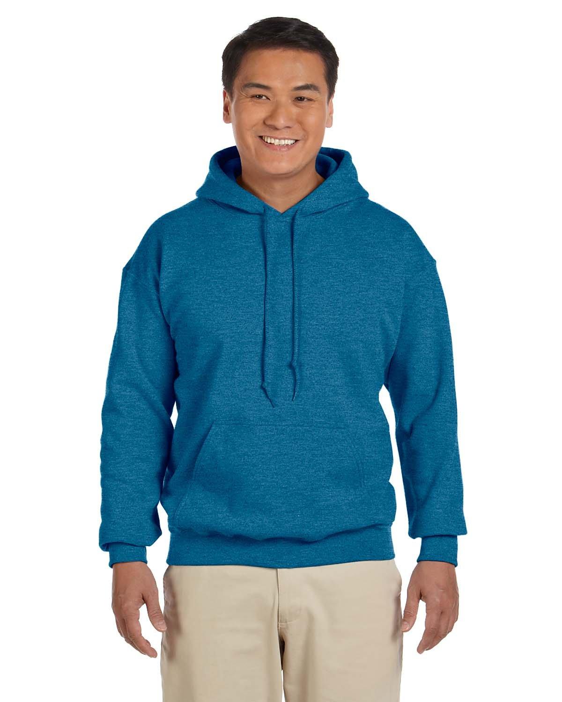 Gildan Adult Heavy Blend™ 50/50 Hooded Sweatshirt ANTIQUE SAPPHIRE