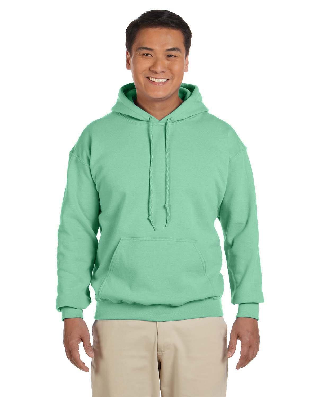 Gildan Adult Heavy Blend™ 50/50 Hooded Sweatshirt MINT GREEN