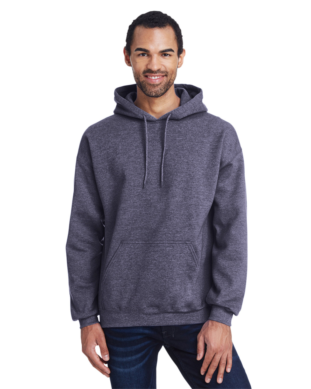 Gildan Adult Heavy Blend™ 50/50 Hooded Sweatshirt HT SPRT DRK NAVY