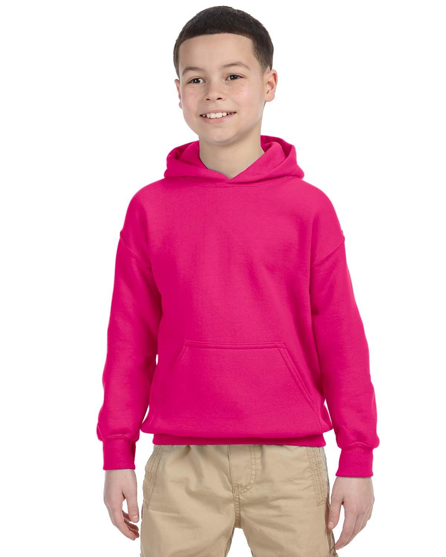 Gildan Youth Heavy Blend™ 50/50 Hooded Sweatshirt HELICONIA