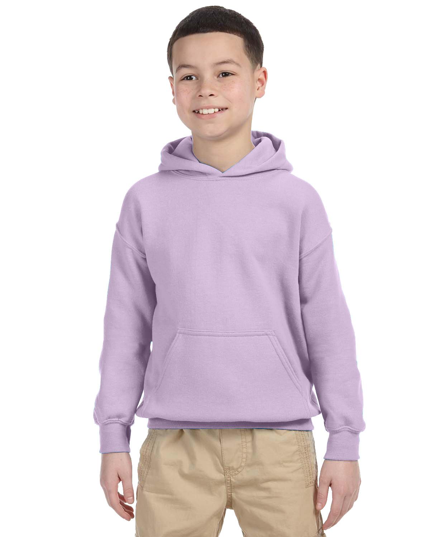 Gildan Youth Heavy Blend™ 50/50 Hooded Sweatshirt ORCHID