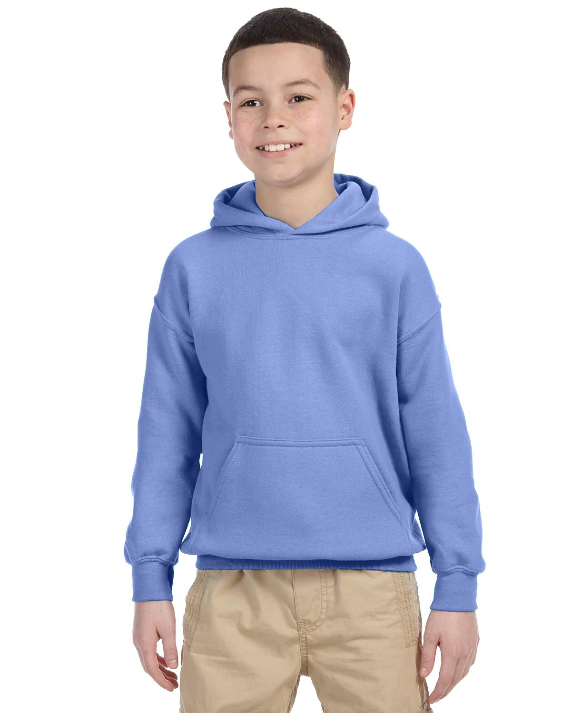 Gildan Youth Heavy Blend™ 50/50 Hooded Sweatshirt VIOLET