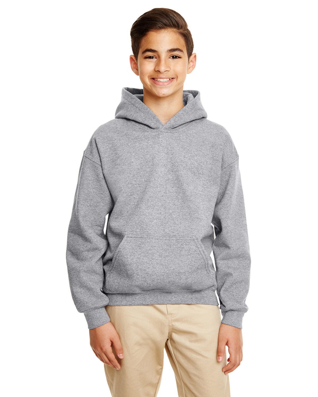 Gildan Youth Heavy Blend™ 50/50 Hooded Sweatshirt GRAPHITE HEATHER