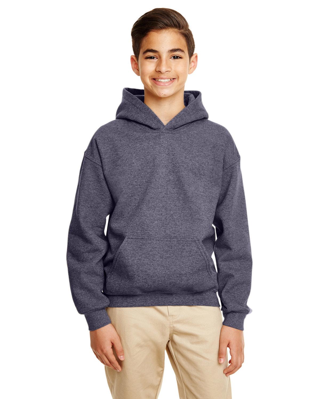 Gildan Youth Heavy Blend™ 50/50 Hooded Sweatshirt HT SPRT DRK NAVY