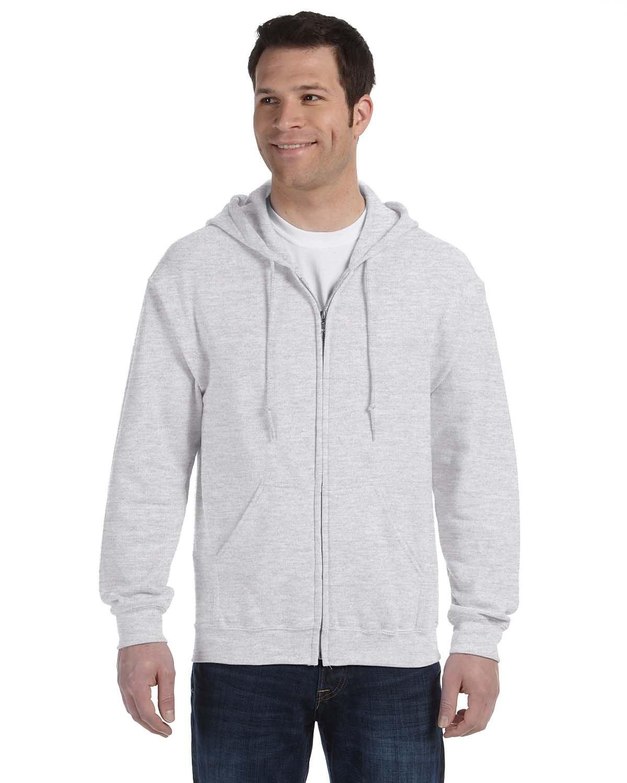 Gildan Adult Heavy Blend™ 50/50 Full-Zip Hooded Sweatshirt ASH
