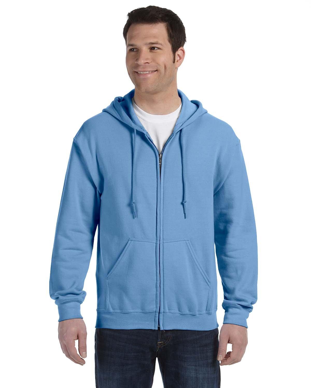 Gildan Adult Heavy Blend™ 50/50 Full-Zip Hooded Sweatshirt CAROLINA BLUE