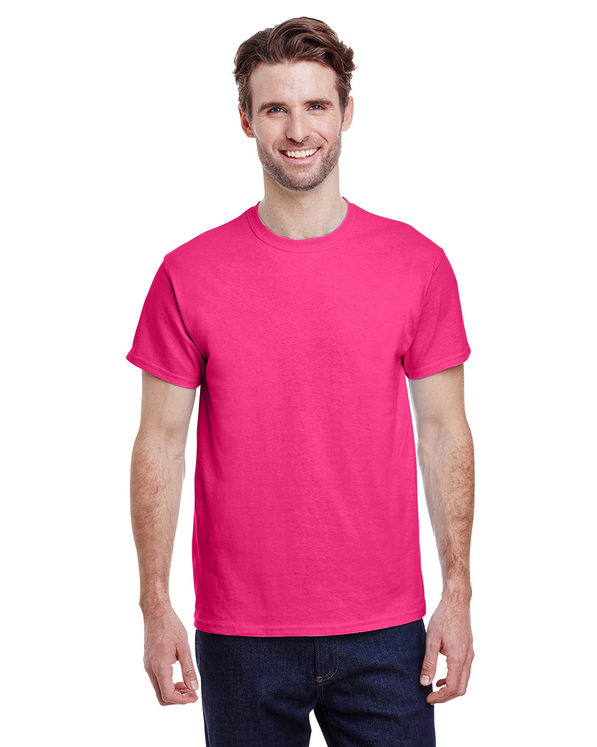 Gildan Adult Ultra Cotton® 6 oz. T-Shirt HELICONIA