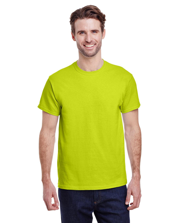 Gildan Adult Ultra Cotton® T-Shirt SAFETY GREEN