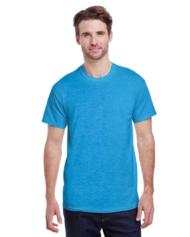 Gildan Adult Ultra Cotton® T-Shirt HEATHER SAPPHIRE