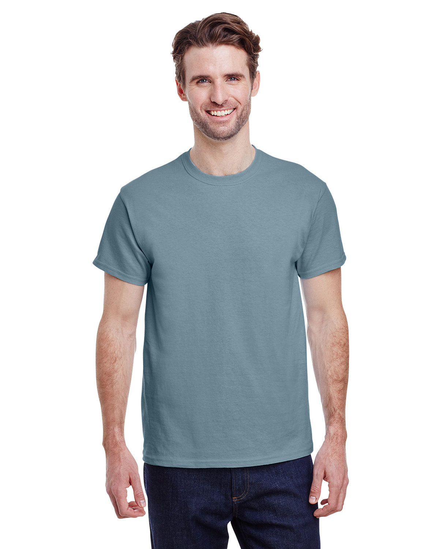 Gildan Adult Ultra Cotton® T-Shirt STONE BLUE