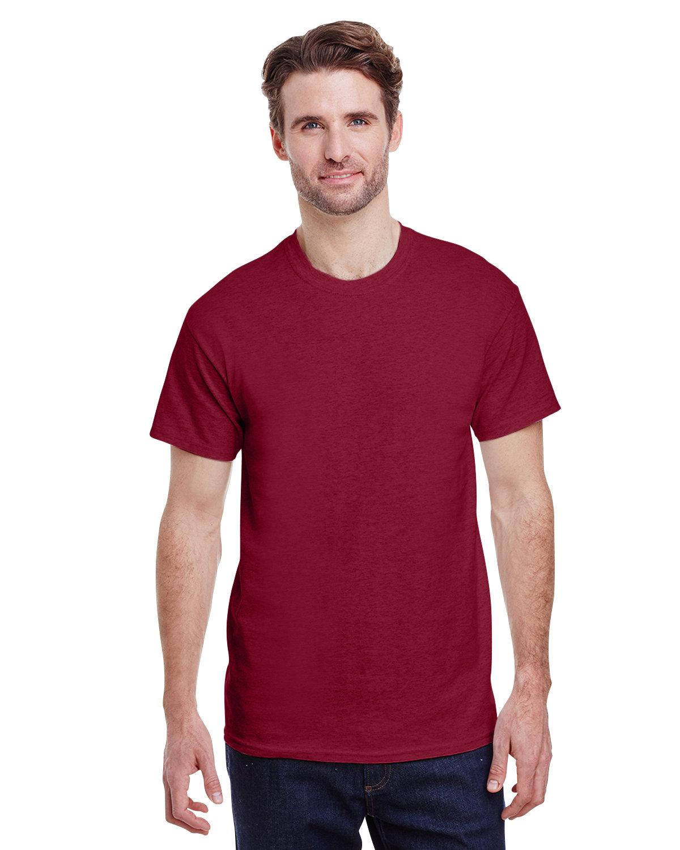 Gildan Adult Ultra Cotton® T-Shirt ANTIQ CHERRY RED