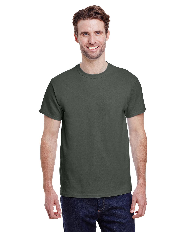 Gildan Adult Ultra Cotton® T-Shirt MILITARY GREEN