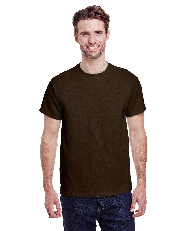 Gildan Adult Ultra Cotton® T-Shirt DARK CHOCOLATE