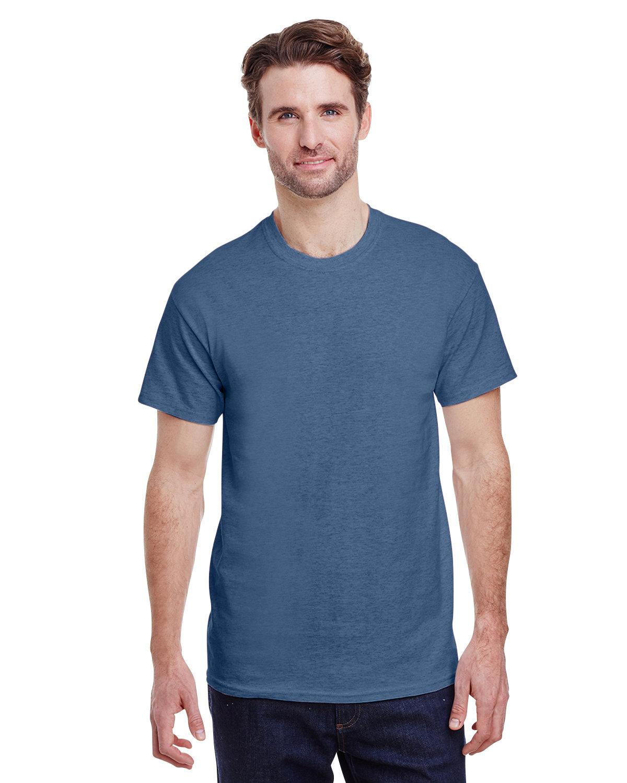 Gildan Adult Ultra Cotton® T-Shirt HEATHER INDIGO