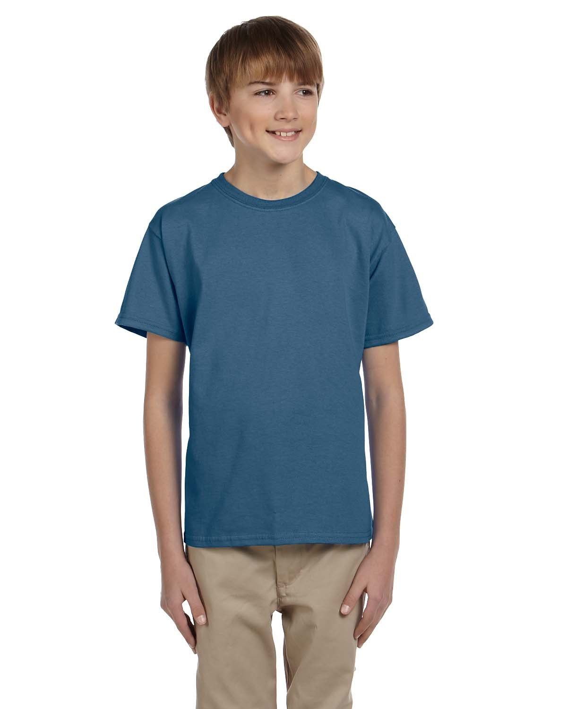 Gildan Youth Ultra Cotton® T-Shirt INDIGO BLUE
