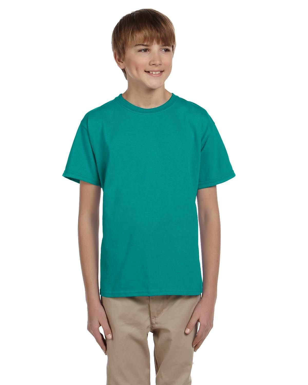Gildan Youth Ultra Cotton® T-Shirt JADE DOME