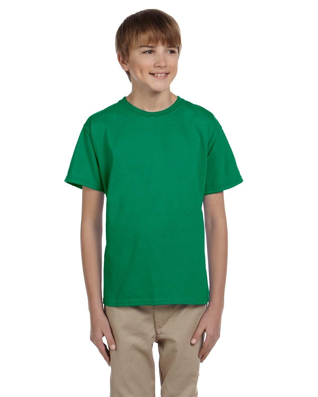 Gildan Youth Ultra Cotton® T-Shirt KELLY GREEN