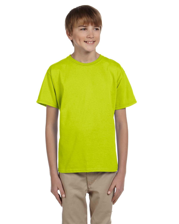 Gildan Youth Ultra Cotton® T-Shirt SAFETY GREEN