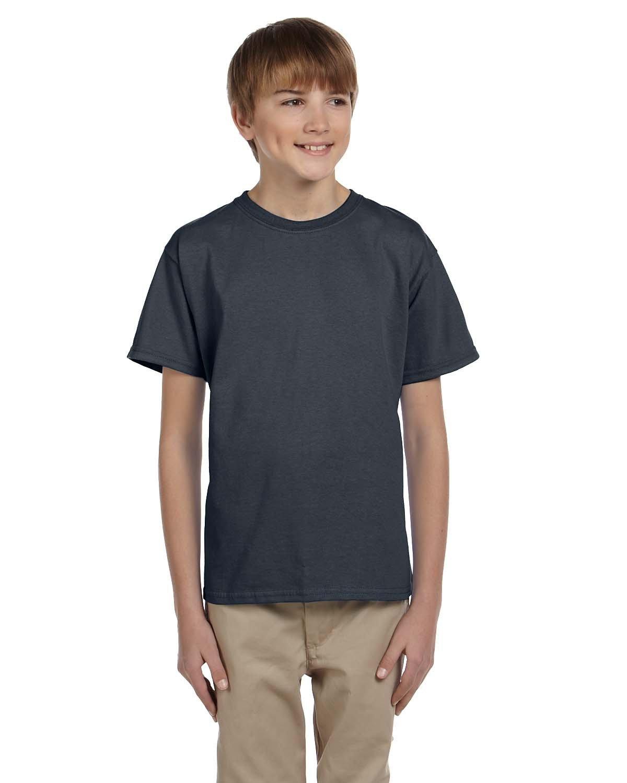 Gildan Youth Ultra Cotton® T-Shirt CHARCOAL