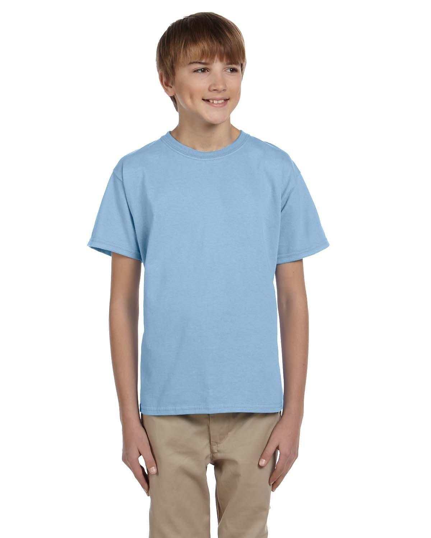 Gildan Youth Ultra Cotton® T-Shirt LIGHT BLUE