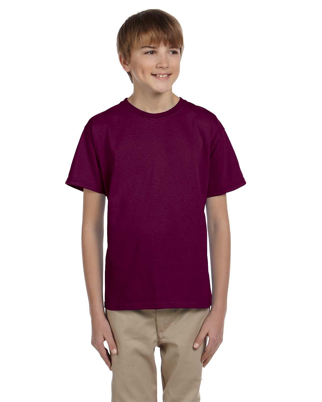 Gildan Youth Ultra Cotton® T-Shirt MAROON