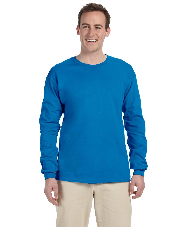 Gildan Adult Ultra Cotton®  Long-Sleeve T-Shirt SAPPHIRE