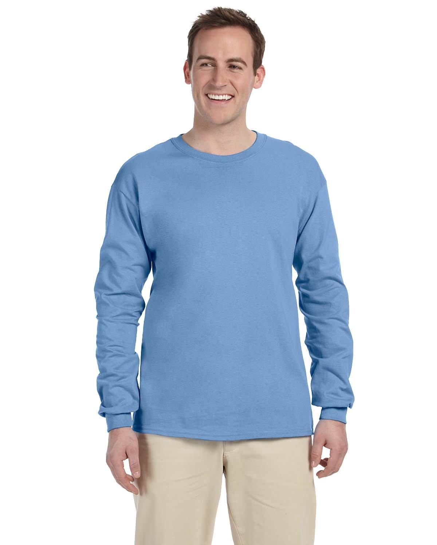 Gildan Adult Ultra Cotton®  Long-Sleeve T-Shirt CAROLINA BLUE
