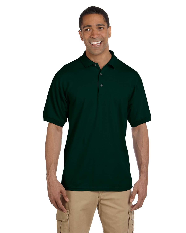 Gildan Adult Ultra Cotton® Adult Piqué Polo FOREST GREEN