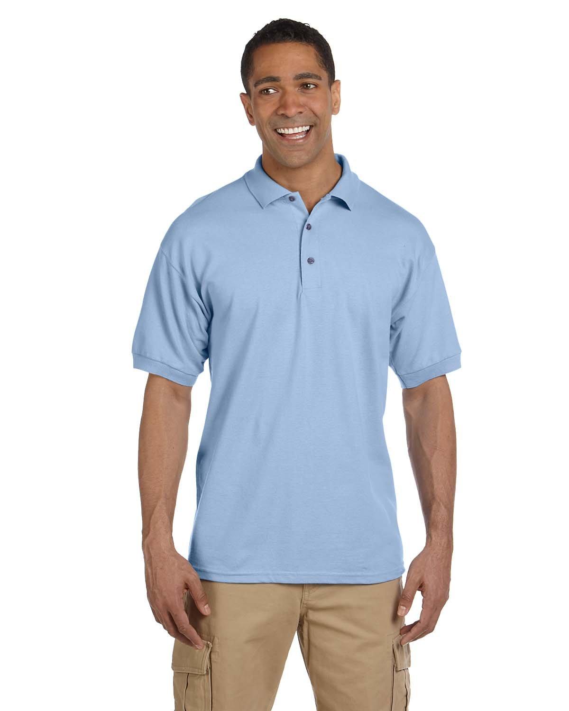 Gildan Adult Ultra Cotton® Adult Piqué Polo LIGHT BLUE