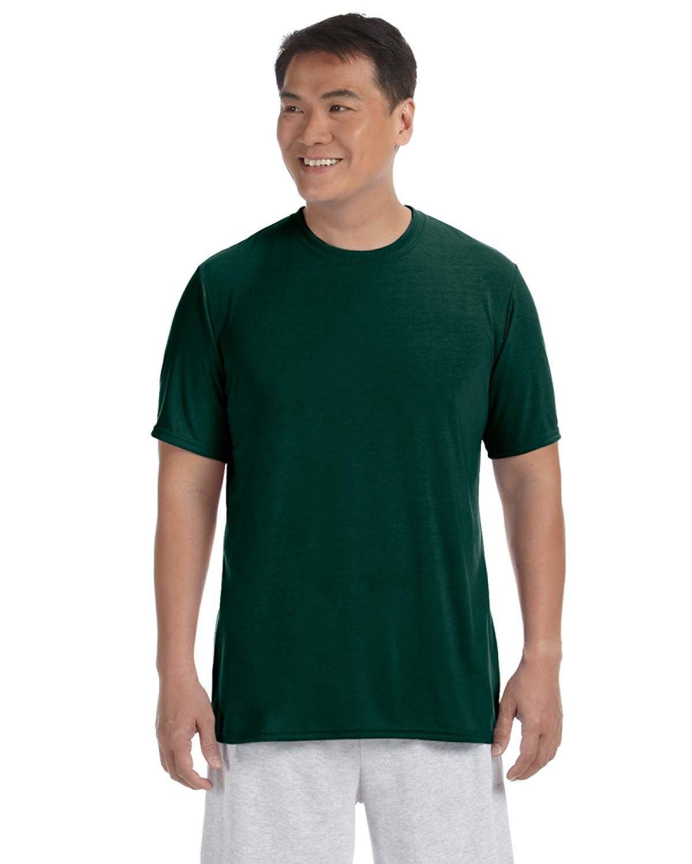 Gildan Adult Performance® Adult T-Shirt FOREST GREEN