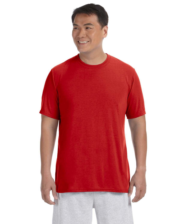 Gildan Adult Performance® Adult T-Shirt RED