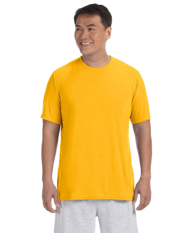 Gildan Adult Performance® Adult T-Shirt GOLD