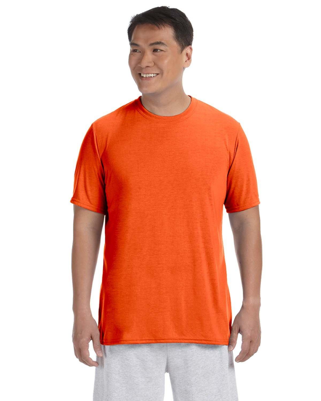Gildan Adult Performance® Adult T-Shirt ORANGE
