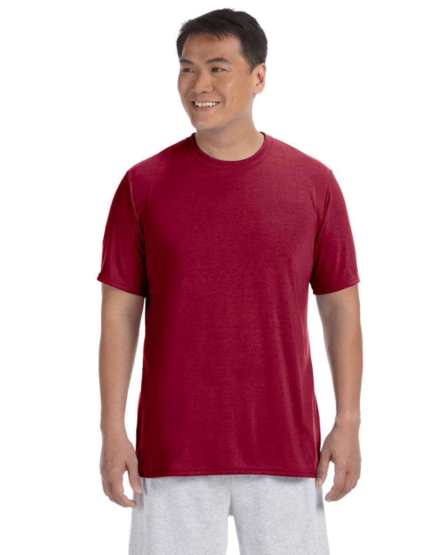 Gildan Adult Performance® Adult T-Shirt CARDINAL RED