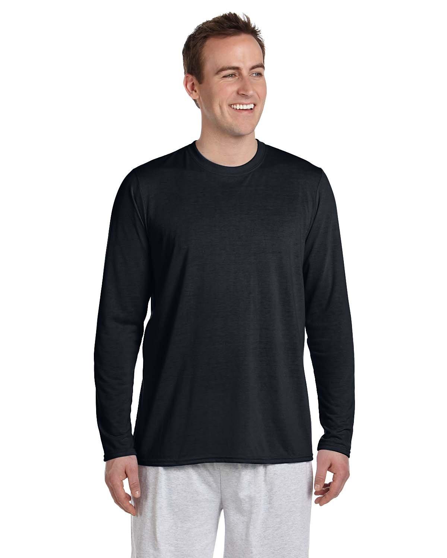Gildan Adult Performance® Adult Long-Sleeve T-Shirt BLACK