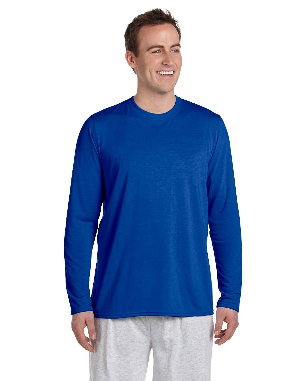 Gildan Adult Performance® Adult Long-Sleeve T-Shirt ROYAL