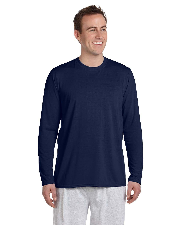 Gildan Adult Performance® Adult Long-Sleeve T-Shirt NAVY