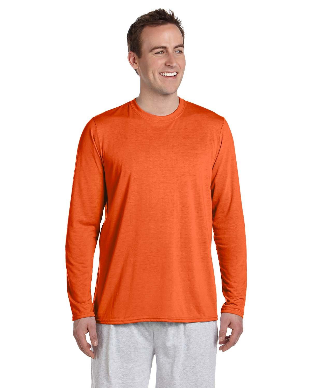 Gildan Adult Performance® Adult Long-Sleeve T-Shirt ORANGE