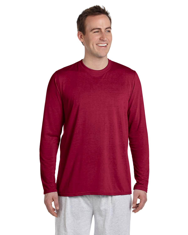 Gildan Adult Performance® Adult Long-Sleeve T-Shirt CARDINAL RED