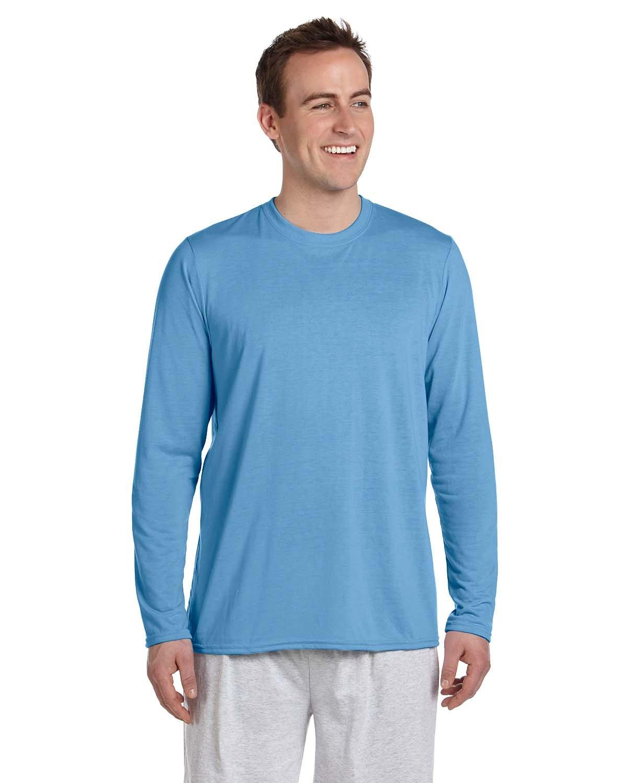 Gildan Adult Performance® Adult Long-Sleeve T-Shirt CAROLINA BLUE