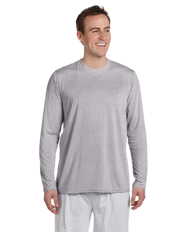 Gildan Adult Performance® Adult Long-Sleeve T-Shirt SPORT GREY