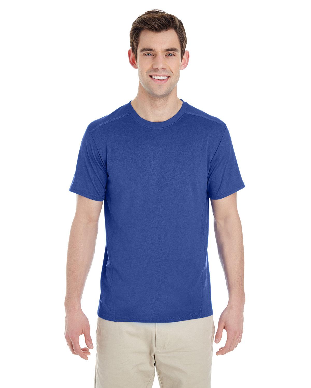 Gildan Adult Performance® Adult Tech T-Shirt MARBLED ROYAL