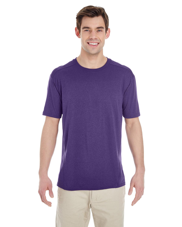 Gildan Adult Performance® Adult Tech T-Shirt MARBLED PURPLE