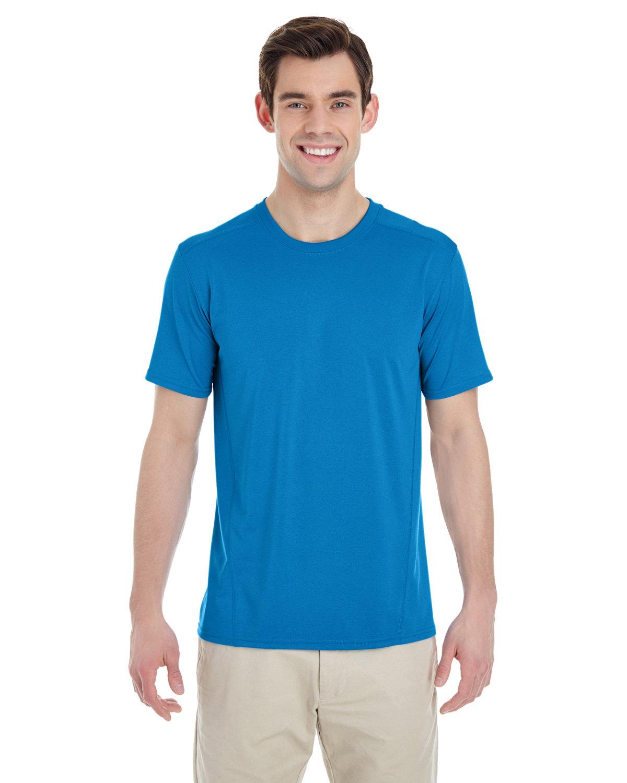 Gildan Adult Performance® Adult Tech T-Shirt MARBLED SAPPHIRE