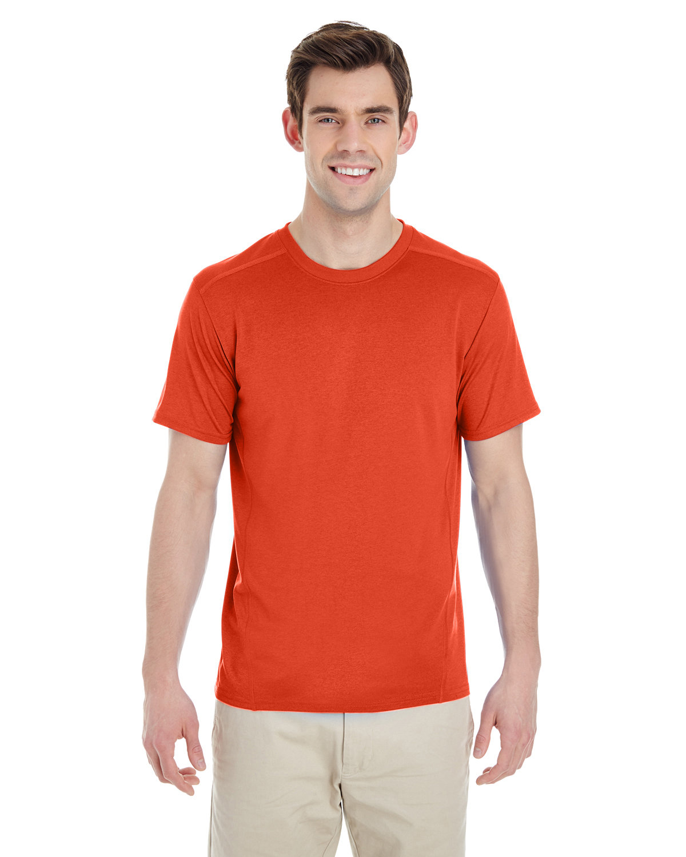 Gildan Adult Performance® Adult Tech T-Shirt MARBLED ORANGE