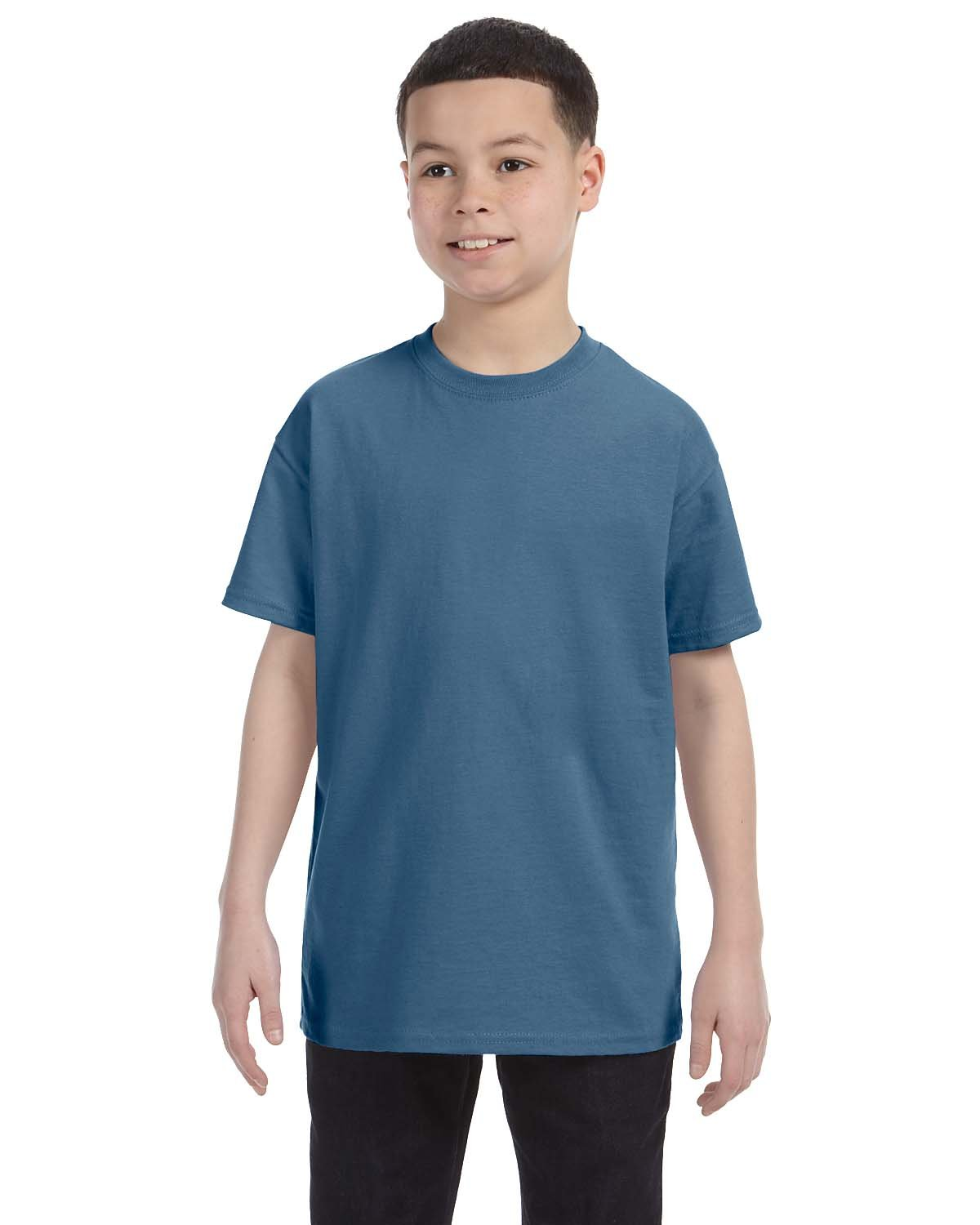 Gildan Youth  Heavy Cotton™ 5.3 oz. T-Shirt INDIGO BLUE
