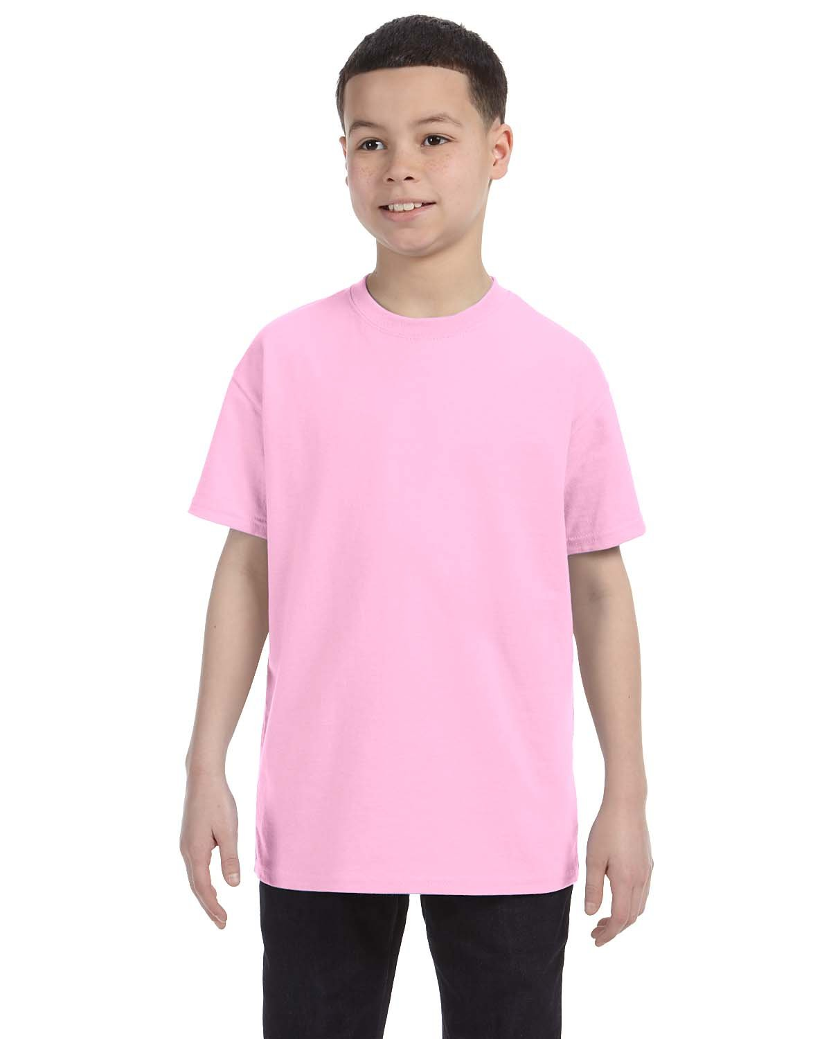 Gildan Youth  Heavy Cotton™ 5.3 oz. T-Shirt LIGHT PINK