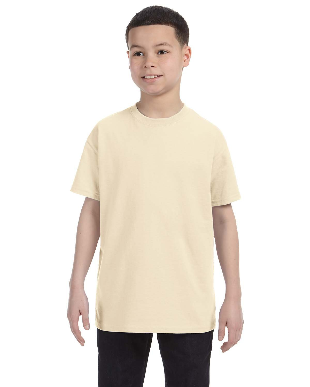 Gildan Youth  Heavy Cotton™ 5.3 oz. T-Shirt NATURAL