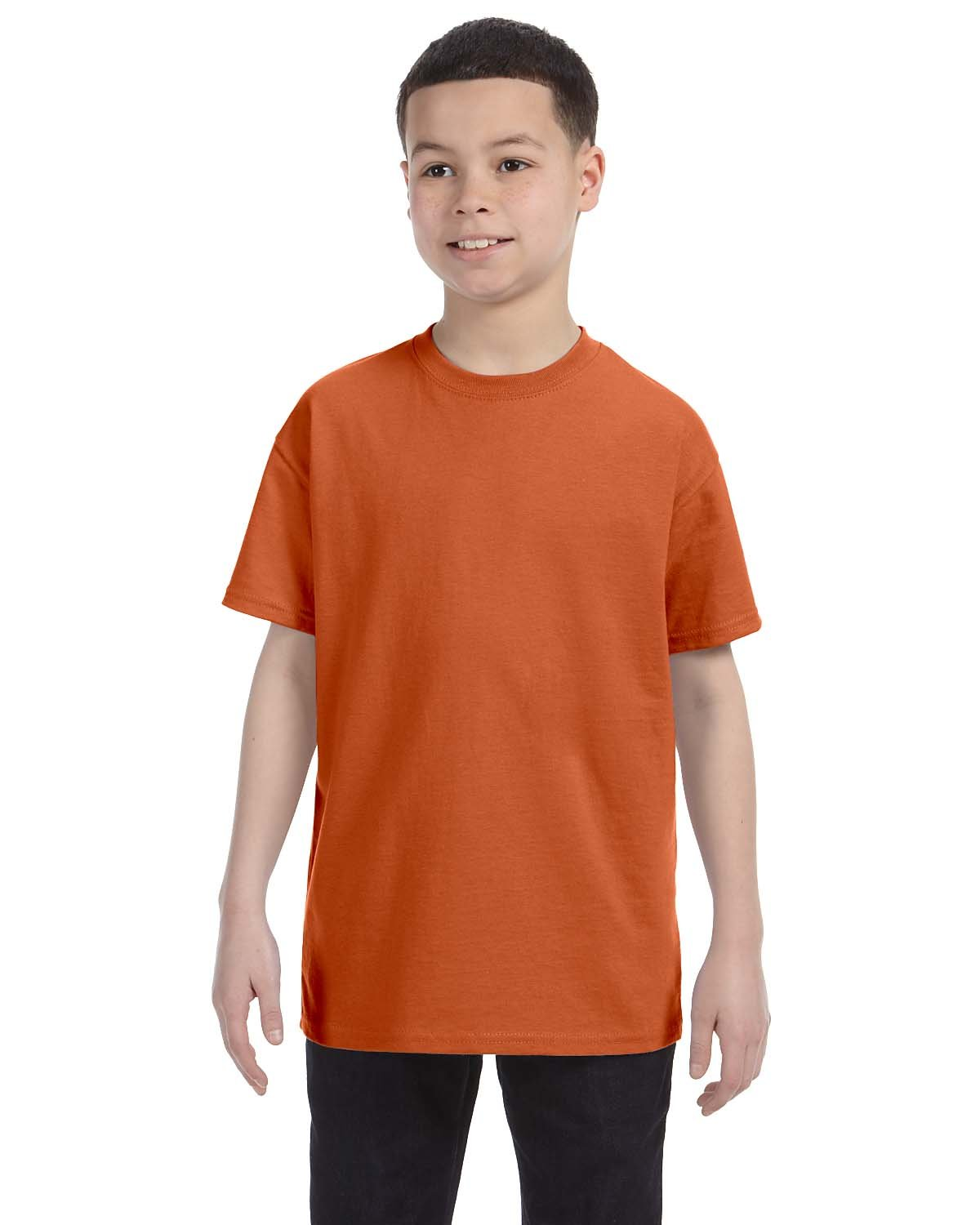 Gildan Youth  Heavy Cotton™ 5.3 oz. T-Shirt T ORANGE
