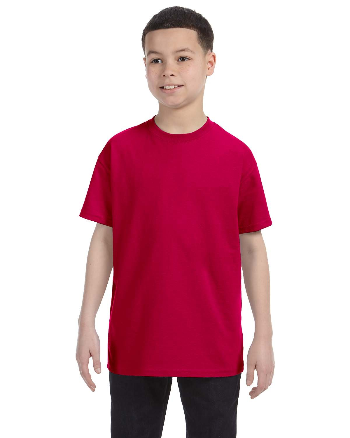 Gildan Youth  Heavy Cotton™ 5.3 oz. T-Shirt GARNET